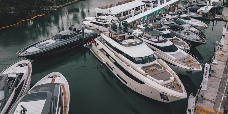 FERRETTI GROUP НА БОТ-ШОУ В МАЙАМИ